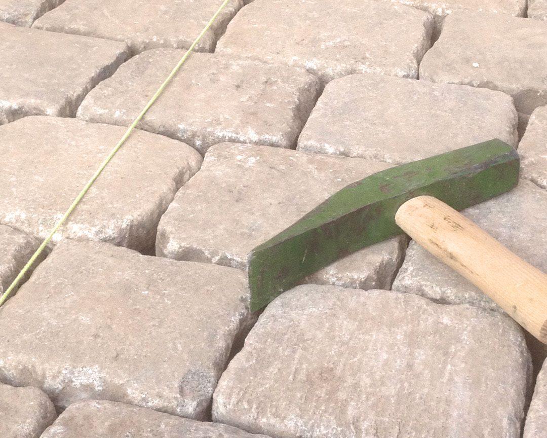 Gebrauchtes Granitgroßstein-Pflaster